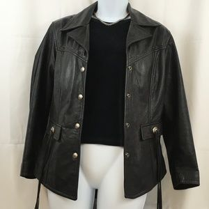 Womans Harley Davidson Leather Riding Jacket sz XS